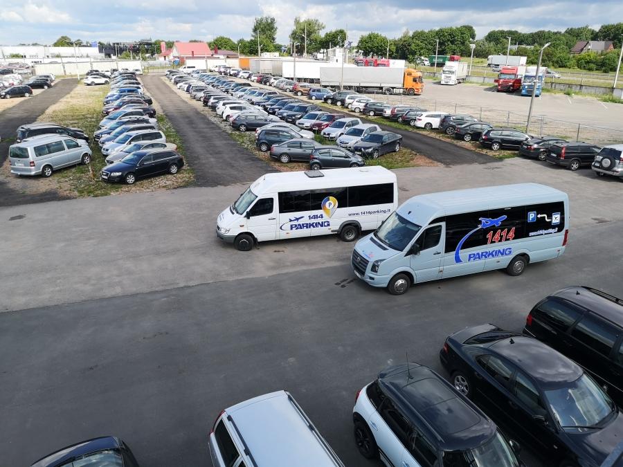 Saugus automobilių parkavimas prie Vilniaus oro uosto 4