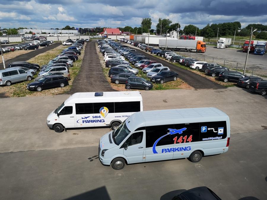 Saugus automobilių parkavimas prie Vilniaus oro uosto 5