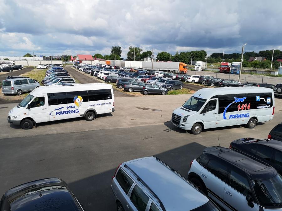 Saugus automobilių parkavimas prie Vilniaus oro uosto 6