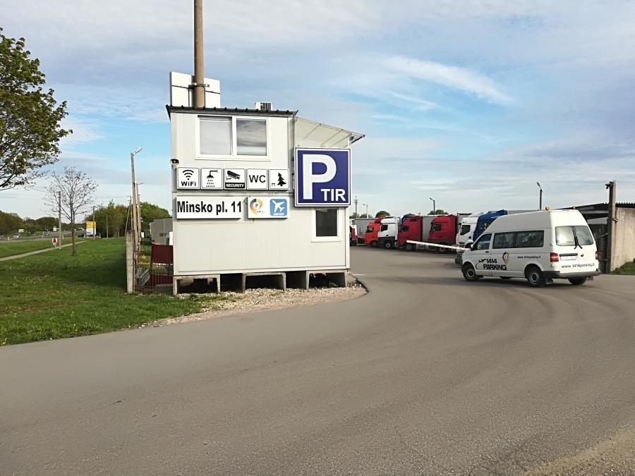 Safe parking at Vilnius airport.  2