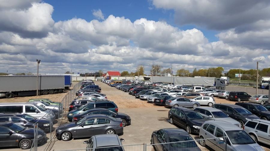 Safe parking at Vilnius airport.  5