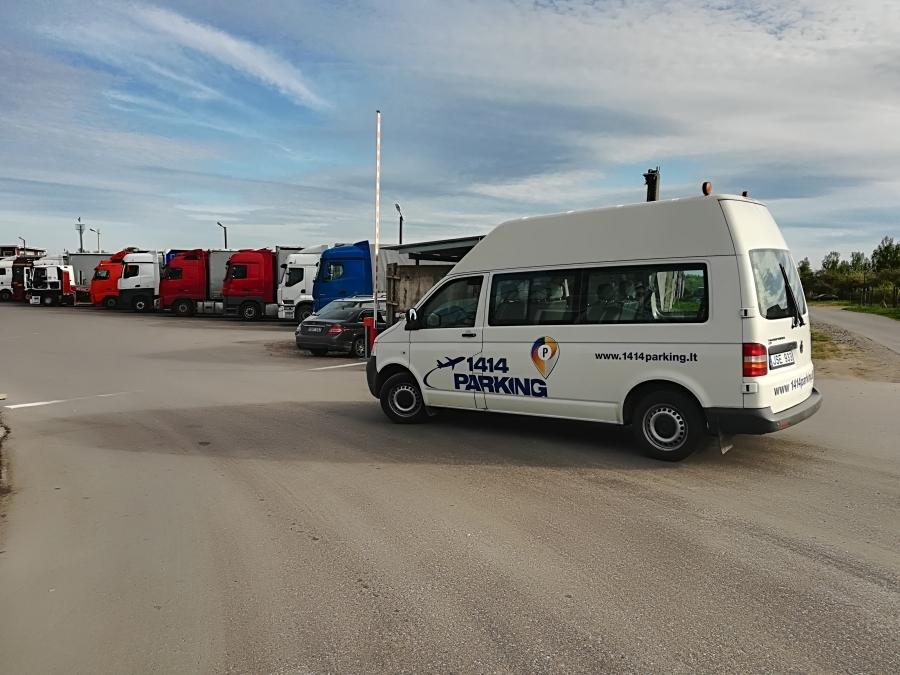 Safe parking at Vilnius airport.  12